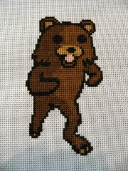 Pedobear Cross Stitch