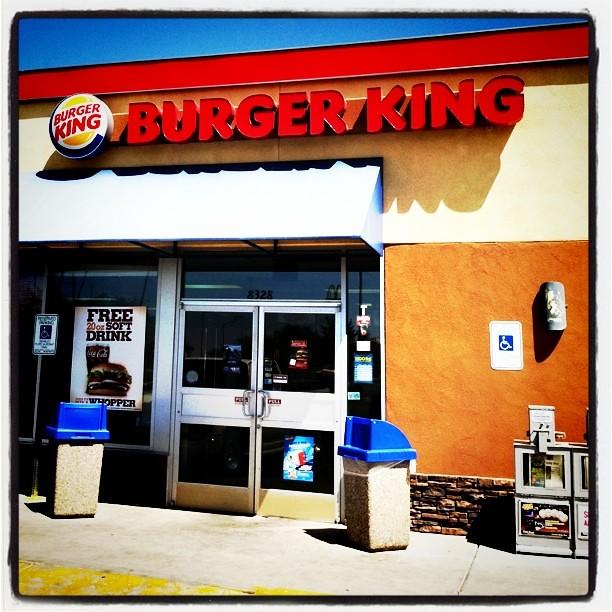 Stop #2 - Burger King