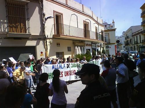 15M en pleno Ayto. Alcalá de Guadaíra 2