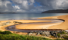 What a view!!! (gallow_chris) Tags: ocean travel ireland beach water clouds golf northernireland golftrip littlestories chrisgallow amazingtalent portsalon chrisgallow picswithsoul