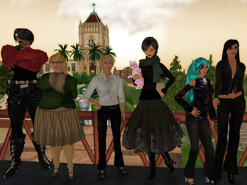 NMC Virtual World team photo
