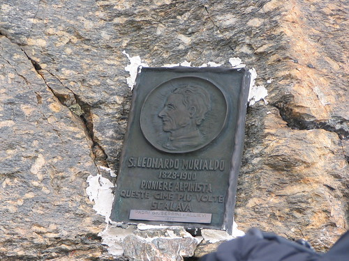 Targa in memoria a S. Murialdo