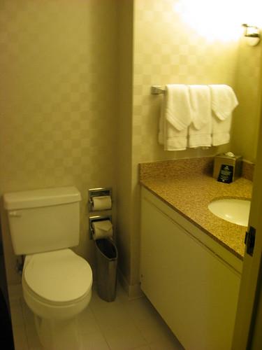 il bagno... dov'è il bidè ?
