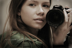 Me and my Cam (ildiko.torok) Tags: portrait me face look canon photography mirror eyes fav50 explore passion ildikotorok top20femmes hungarianmirror