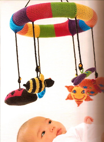 Mobile Menagerie - Boho Baby Knits