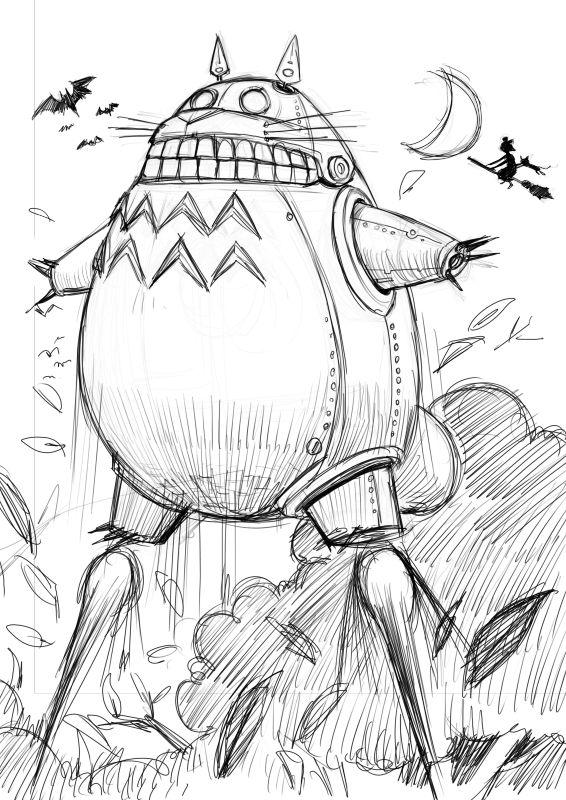 龍貓-robot2