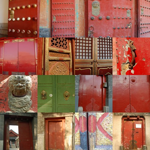 Beijing doorways