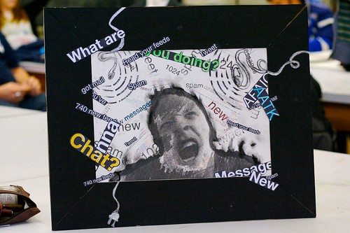 Information overload art project by DeaPeaJay