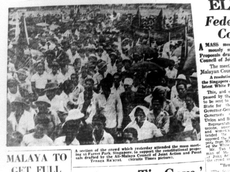 Gambar Malayan Union