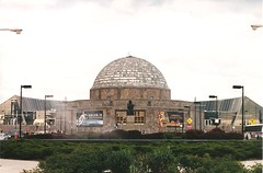 Adler Planetarium (sftrajan) Tags: chicago illinois lakemichigan dome grantpark lakefront searsroebuck museumcampus adlerplanetarium nikonem nationalregisterofhistoricplaces             maxadler