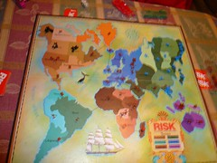 Thanksgiving Risk board, final state