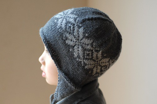 Norwegian Star Earflap Hat by Tienne