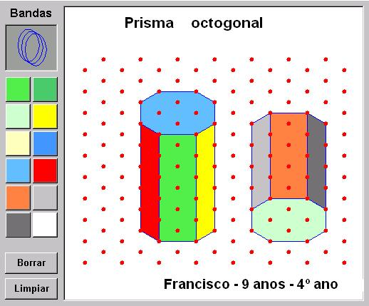 Prisma octogonal Francisco