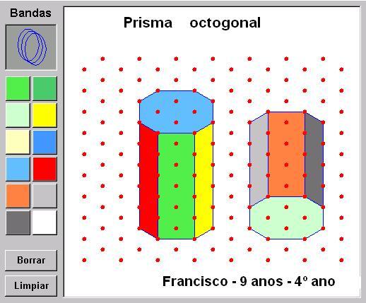 Prisma octogonal Francisco