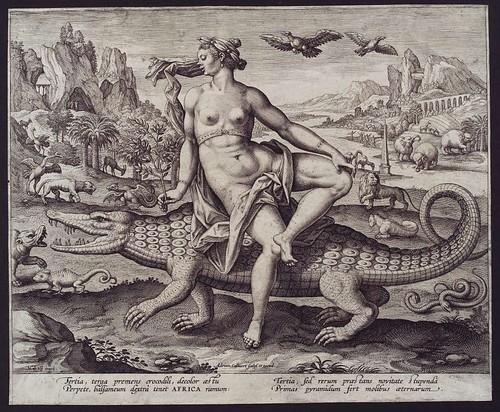 Collaert Africa 1551 - 1600