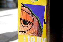 fiber glass look (damonabnormal) Tags: uwp 33 sticker stickers citystickers stickerart graffiti graff urbanart streetart street urban phl philadelphia nov november 2007 nikon d80 philadelphiagraffiti philadelphiastreetart philadelphiaartist label labels slap slaps