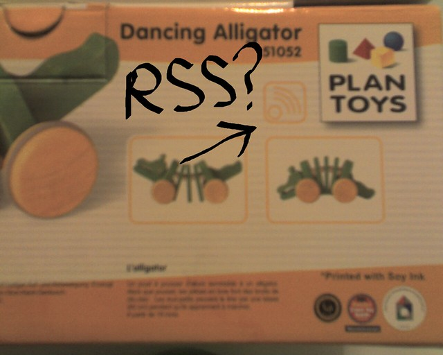 Dancing Alligator with RSS