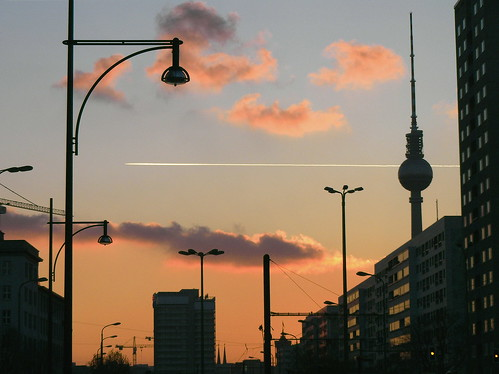 creative commons hi-res photo of the day:  Berlin Sunset (3064 x 2294)