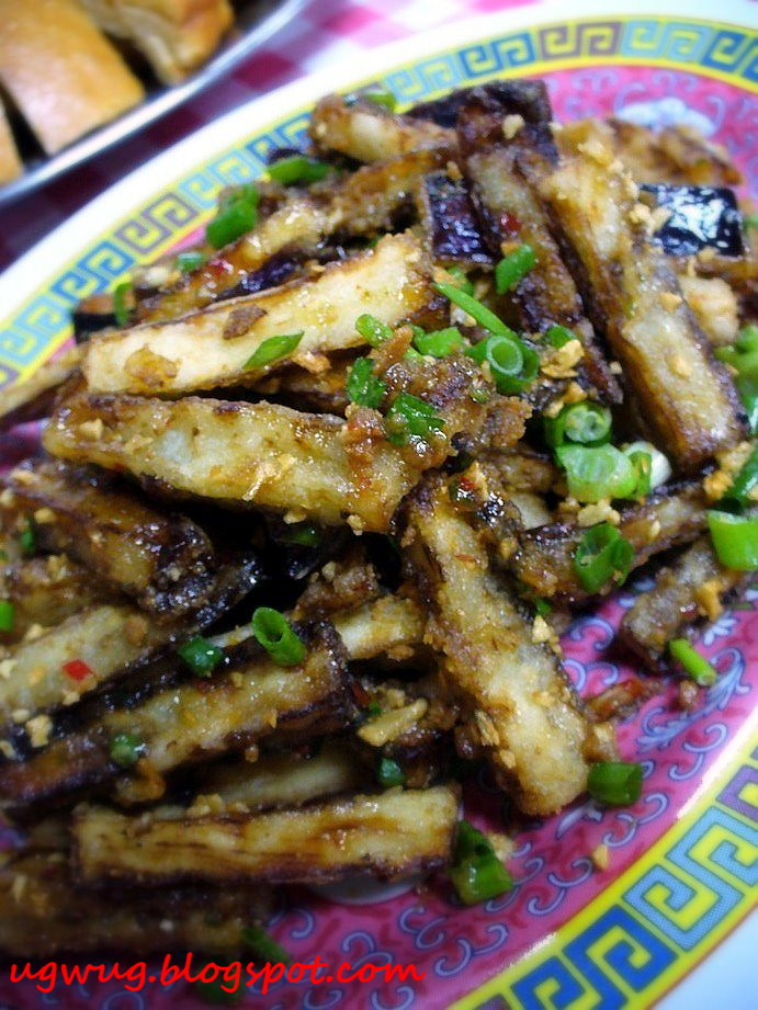 Crispy Fried Brinjal
