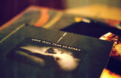 Love Will Tear Us Apart (-spam-) Tags: film vinyl 7 45 single record ricoh lovewilltearusapart fujijoydivision