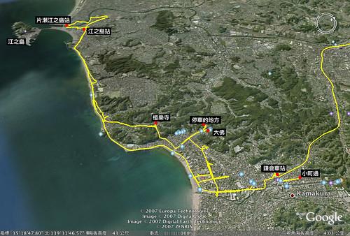 湘南海岸騎車路徑