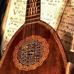 Lute (Frizztext) Tags: venice square interestingness guitar arabic explore melody galleries 2008 aloud venezia oud lute laute frizztext 20071231