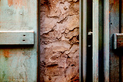 Like Open Doors (Orangeya) Tags: door old blue wooden paint doors lulu rusty lolo souq wagif soug waqif orangeya 0rangeya
