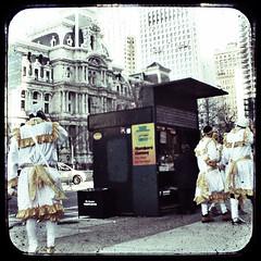 The Wenches (sadandbeautiful (Sarah)) Tags: philadelphia cityhall mummers argus ttv newyearsdayparade throughtheviewfinder