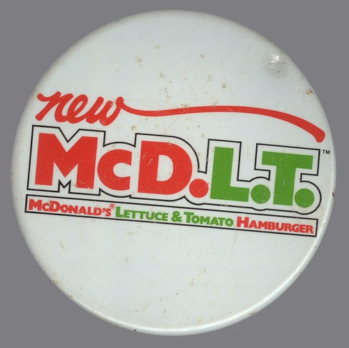 *New* McD.L.T. Button