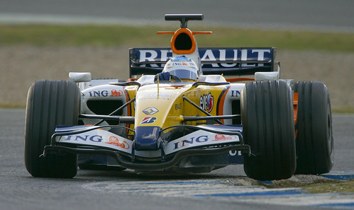 The new Renault for Alonso in Jerez