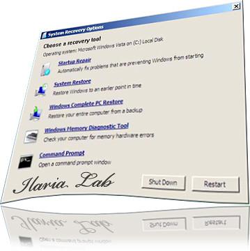 Vista non funzona più? riparalo con Windows Vista Recovery
