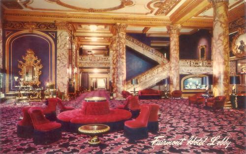 dorothy draper 1940's fairmont hotel lobby | obsessed - borne