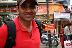 Hari nayak in cochin spice market