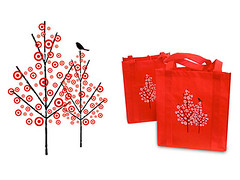 Wink : bags and logo for target (Grain Edit.com) Tags: trees illustration design graphicdesign graphic contemporary target packaging bags wink logos branding reuse targets winkdesign