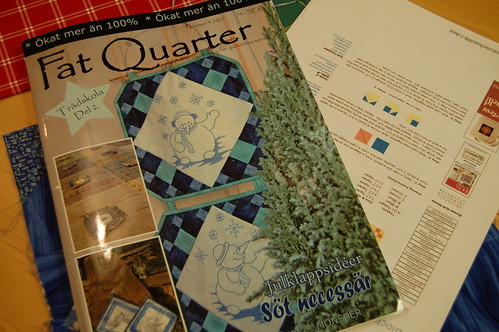 Fat Quarter - a Swedish quilting magazine