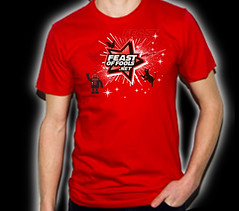 Firecracker Red T-Shirt ! Supports the Trevor Project