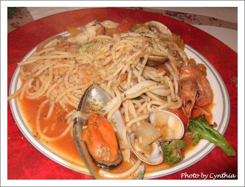 茄香海鮮義大利麵