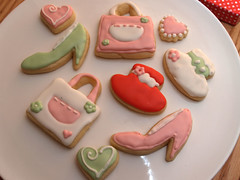 fashion cookies (nikkicookiebaker) Tags: cookies decorated