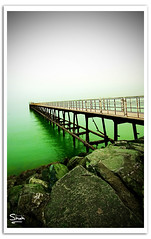Green Sea (Hussain Shah.) Tags: city sea green d50 nikon sigma kuwait 1020mm kuwaiti shah hussain muwali