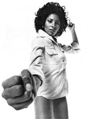 pam grier (hypostylin) Tags: film movie actress 1975 pamgrier blaxploitation newyorkmagazine
