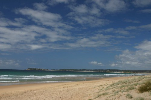 Pacific Ocean Beach, north of Bermagui.