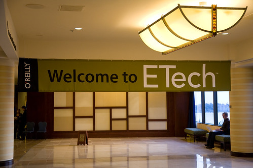 Etech welcome banner