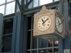 Clock at Ogilvie