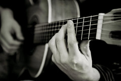 Solo Play (.Bradi.) Tags: blackandwhite bw hands guitar brother instrument strings theblues cwd 2cwdrs 3cwdrs cwdrs cwd622 cwdweek62 cwdrs62 2cwdrs62 3cwdrs62
