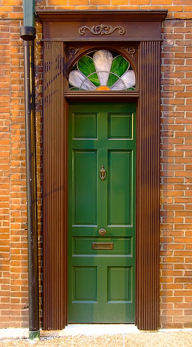 John D McGurk Irish Pub, in Saint Louis, Missouri, USA - door