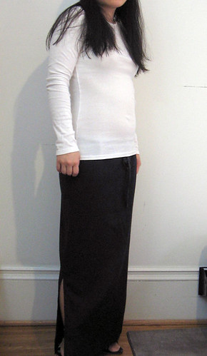 Linen skirt from Sew What Skirts