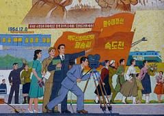 Chollima movie studios in Pyongyang North Korea (Eric Lafforgue) Tags: pictures camera travel del movie studio photo war asia republic picture korea il kimjongil korean socialist asie coree norte northkorea nk ideology axisofevil dictatorship  eastasia sung  core