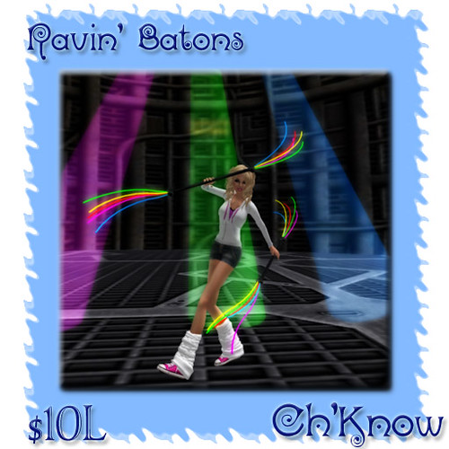Ch'Know Ravin' Batons