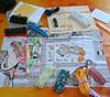 """Scambio """"Kit di sopravvivenza della ricamatrice"""" - received"""