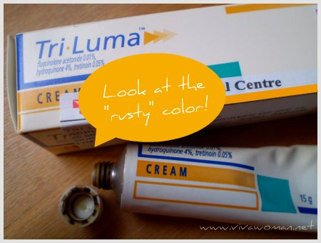 2515632156 b2ccccfeed o Review: Tri Luma Cream to lighten age spots